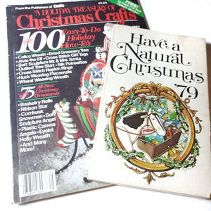 Vintage | Christmas Cooking & Craft Books